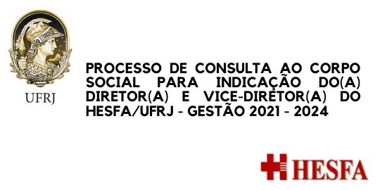 COMISSÃO DE CONSULTA ELEITORAL HESFA/UFRJ 2020