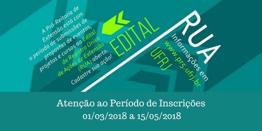 Edital RUA 2018.2