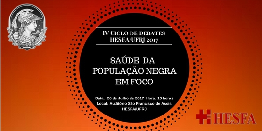 IV Ciclo de Debates HESFA/UFRJ Julho 2017